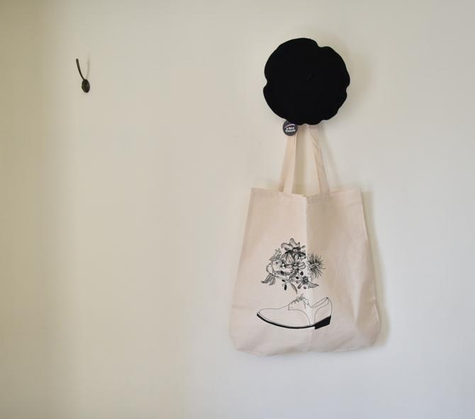 futanaモチーフバッグ